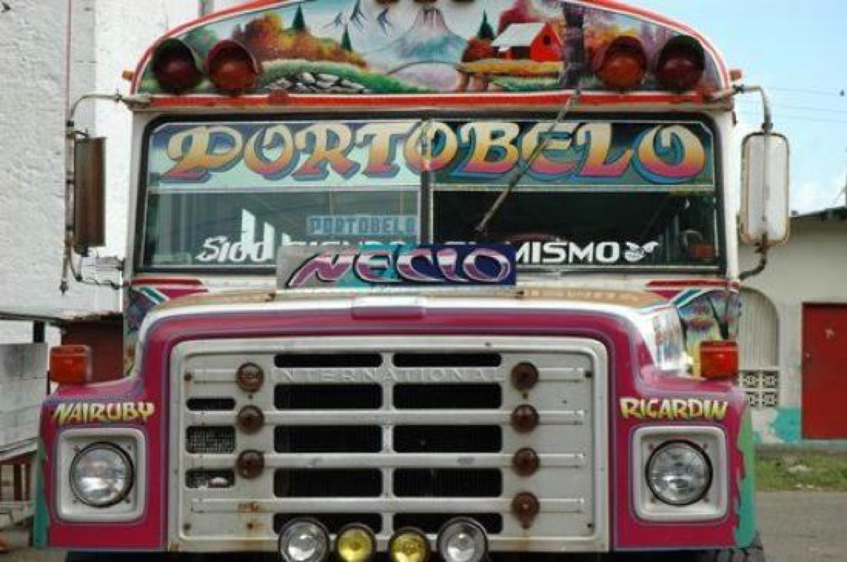 Portobelo Bus (Photo by Saleem Reshamwala)